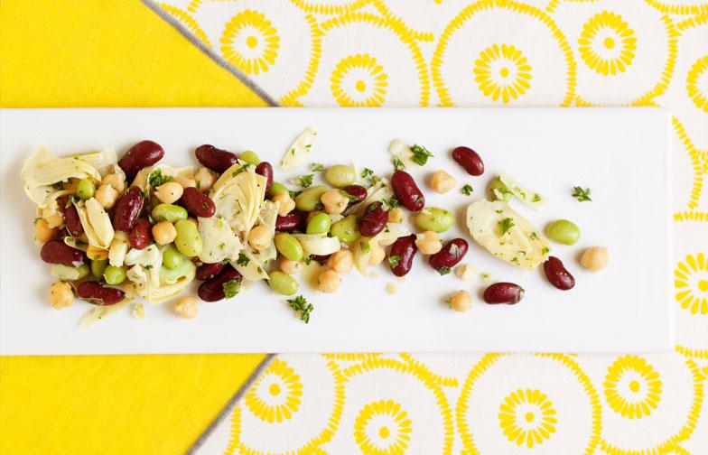 One-Toss Mixed Bean Salad