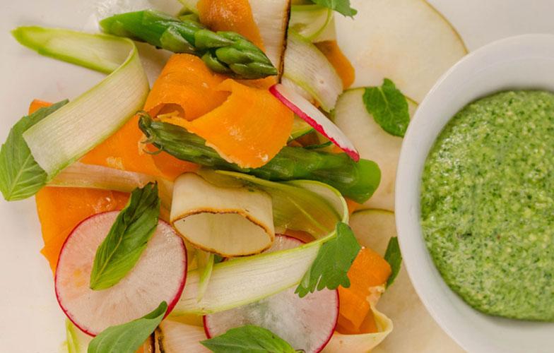 Veggie Pesto Pasta Cover Recipe