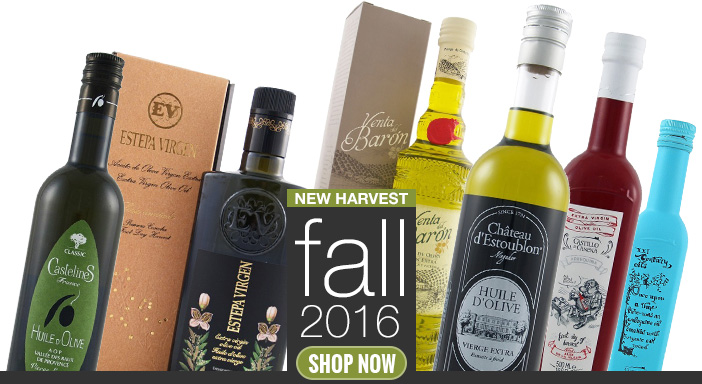New Harvest Spanish Olive Oils Are In